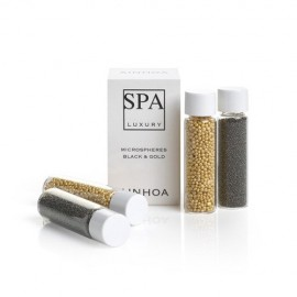 Ainhoa SPA Luxury Black and Gold Microspheres