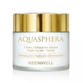 Keenwell Aquasphera Triple Action Intensive Moisturizing Night Cream 80ml