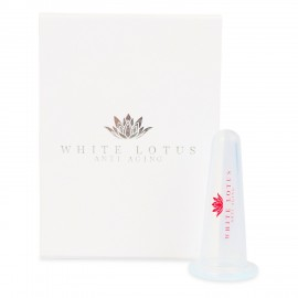 White Lotus Small Facial Massage Cup